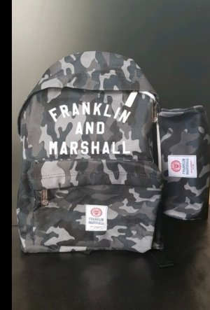 Franklin & marshall Sac à dos vert olive-kaki