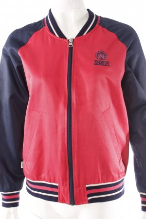 Franklin & Marshall Collegejacke rot-blau