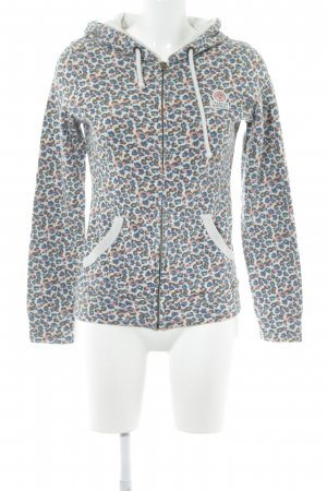 Franklin & marshall Sweatjacke Blumenmuster Romantik-Look