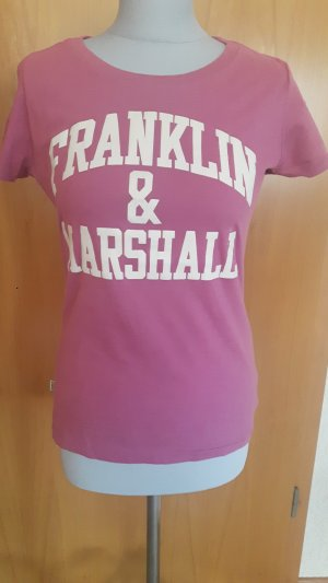 Franklin& Marshall T-Shirt in altrosa