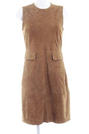 Frankonia Leren jurk cognac country stijl