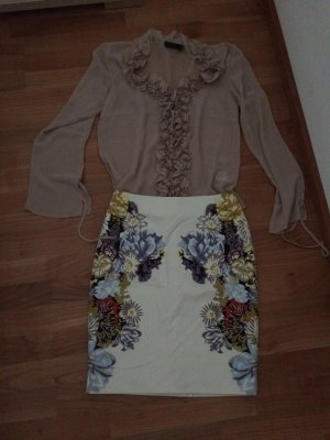 FRANSA Bluse in nude