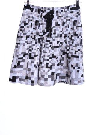 Fransa Flared Skirt allover print casual look