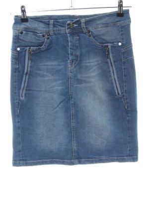 Fransa Gonna di jeans blu stile casual