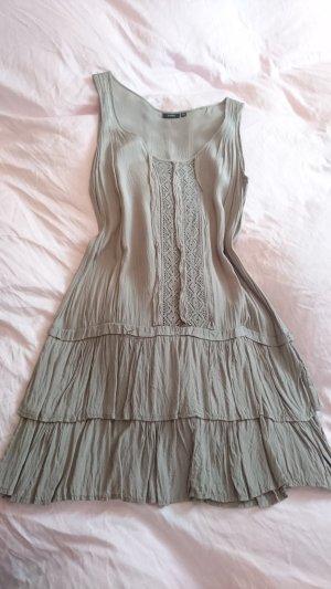 fransa Kleid neuwertig beige Xs 34