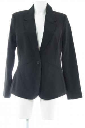 Fransa Kurz-Blazer schwarz Business-Look