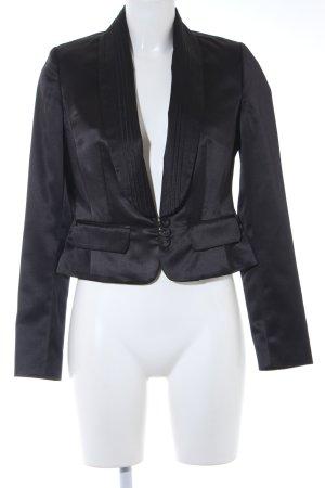 Fransa Kurz-Blazer schwarz Elegant
