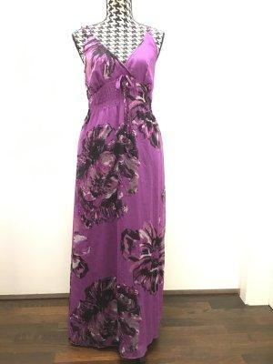Fransa langes lila Maxikleid Kleid mit Träger, Gr. S, wie Neu