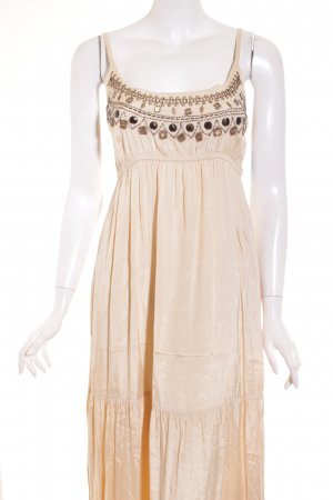 Fransa Maxikleid beige Gypsy-Look