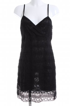 Fransa Spitzenkleid schwarz Elegant