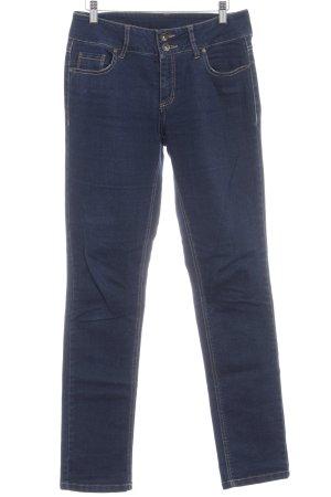 Fransa Straight-Leg Jeans blau Casual-Look