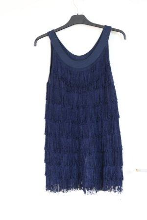 Fransen Mini-Kleid/ Charleston Look