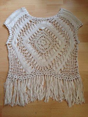 Crochet Top oatmeal-cream