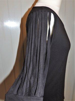 Fransen - Shirt schwarz von Chillytime Größe 36