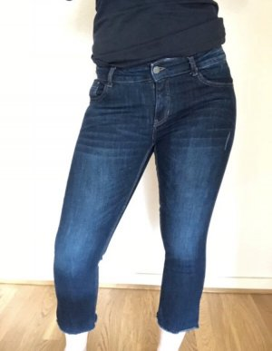 C&A 7/8-jeans donkerblauw-blauw