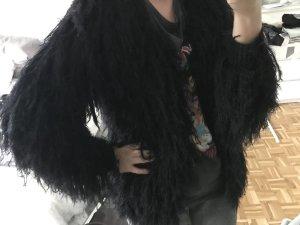Bontjack zwart