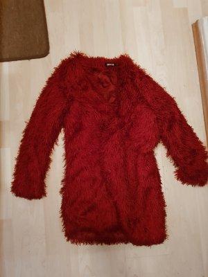 Fransenjacke Jacke Cardigan in Rot Größe S / M