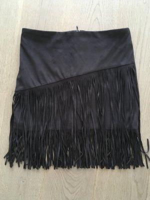 Orsay Jupe à franges noir