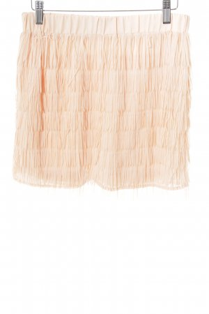 Fringed Skirt apricot party style