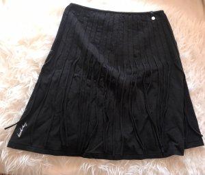 Hookahey Fringed Skirt black