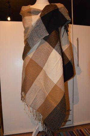 Fransenschal Cape warmer großer Schal