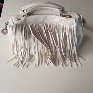Fringed Bag white