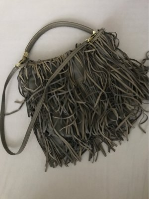 H&M Fringed Bag grey