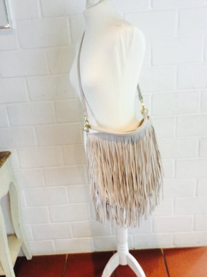 H&M Fringed Bag multicolored imitation leather