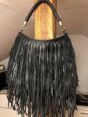 H&M Tas met franjes zwart