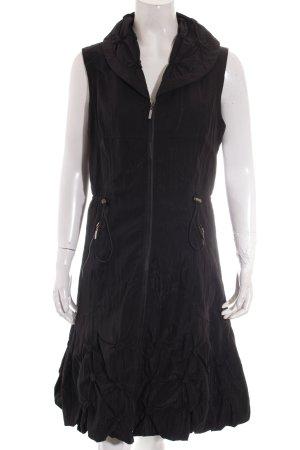 Franstyle Kleid schwarz