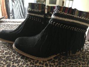 Franzen Ibiza Boho Boots schwarz GR. 38 neu