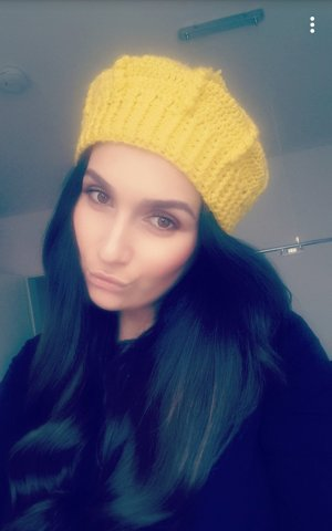 Crochet Cap yellow
