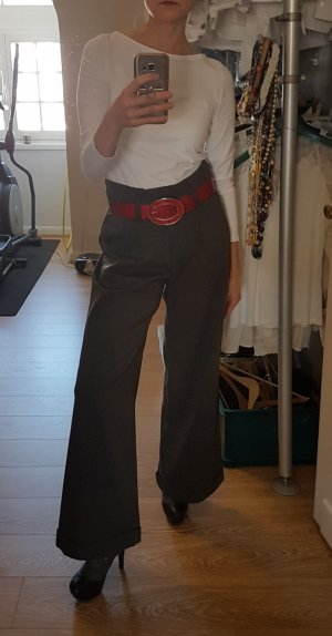 3 Suisses High Waist Trousers dark grey