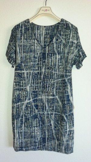 Französisches Kleid Kofferkleid Batik Gr. 38 casual