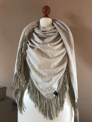 Codello Fringed Scarf oatmeal