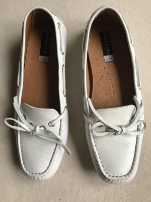 Fratelli rossetti Moccasins white leather