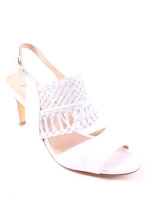 Fratelli rossetti High Heels weiß-beige Romantik-Look