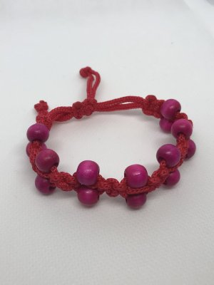 Bangle red-magenta