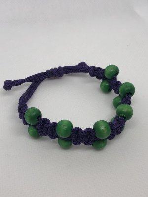 Bangle blauw-paars-groen