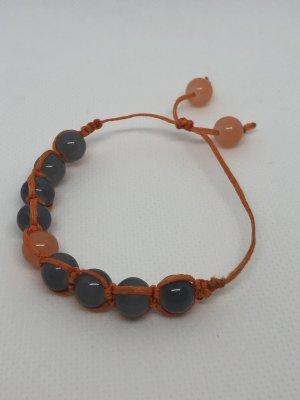 Bangle oranje-grijs