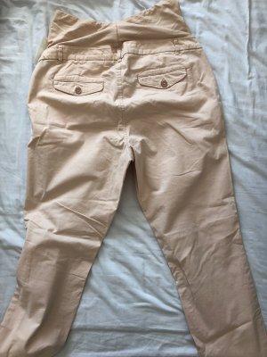 H&M Pantalon taille haute rosé