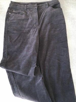 Canda Pantalone di velluto a coste marrone