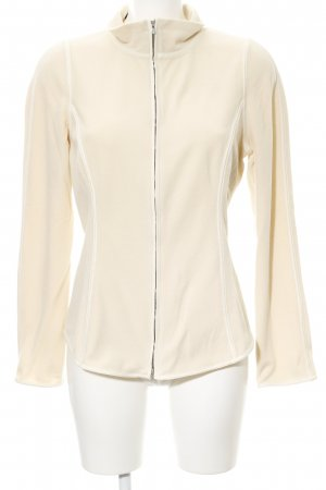 Frauenschuh Fleecejacke creme Casual-Look