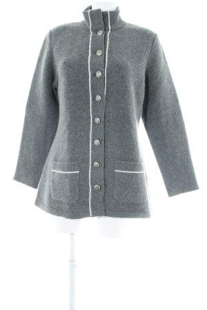 Frauenschuh Trachtenpullover grau klassischer Stil