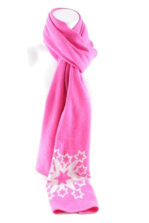 frc cashmere Kaschmirschal pink Sternenmuster Street-Fashion-Look