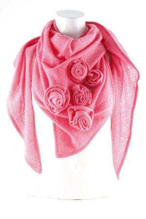 frc cashmere Kaschmirschal rosa Casual-Look