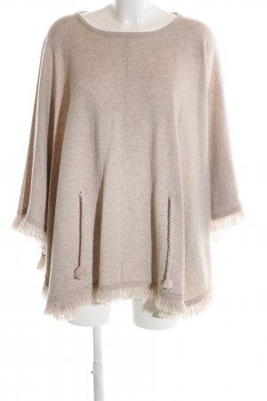frc cashmere Poncho natural white casual look