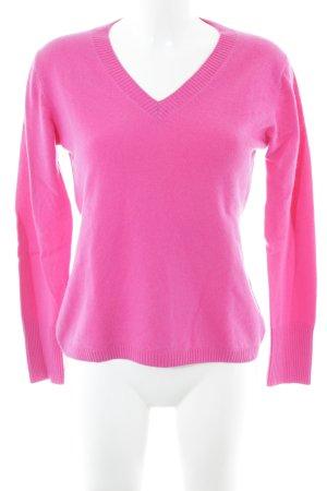 frc cashmere V-Ausschnitt-Pullover pink Casual-Look