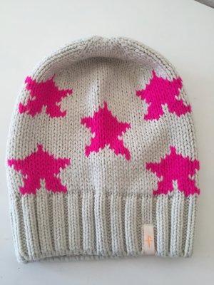 Freaky heads Mütze mit Pinken Sternen