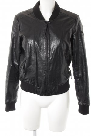 Freaky Nation Bikerjacke schwarz Biker-Look